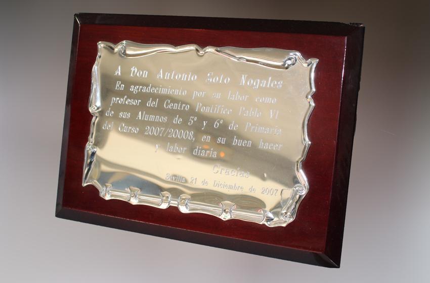 grabado de placas en sevilla